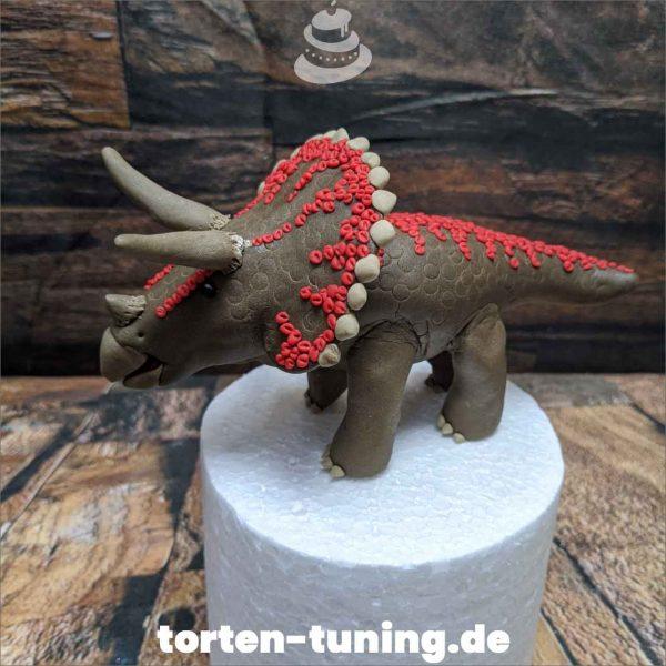 Tortenfigur Triceratops Dino