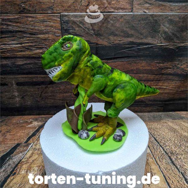 Tyrannosaurus Rex modellierte Figur Fondantfigur Tortenfigur Torte Torten Tuning Geburtstagstorte Suhl Hochzeitstorte Kindertorten Babytorten Fondant online