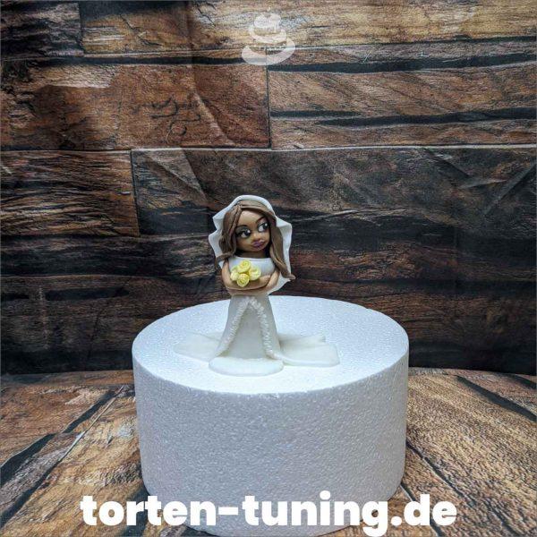 Braut Tortenfigur exotische braut modellierte Figur Fondantfigur Tortenfigur Torte Torten Tuning Geburtstagstorte Suhl Hochzeitstorte Kindertorten Babytorten Fondant online