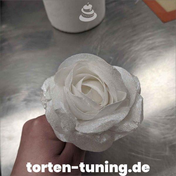 glitzer rose modellierte Figur Fondantfigur Tortenfigur Torte Torten Tuning Geburtstagstorte Suhl Hochzeitstorte Kindertorten Babytorten Fondant online