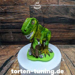 T-Rex groß Tortenfigur realistischer Dinosaurier modellierte Figur Fondantfigur Tortenfigur Torte Torten Tuning Geburtstagstorte Suhl Hochzeitstorte Kindertorten Babytorten Fondant online