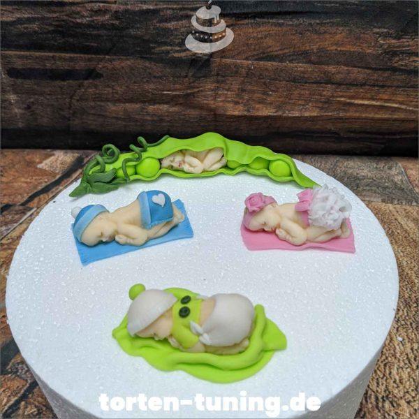 niedliche Babys Tortenfiguren