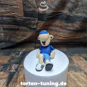 Tortenfigur Schalke Erwin Maskottchen