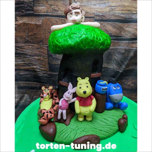 Winnie Pooh Freunde Tortendekoration
