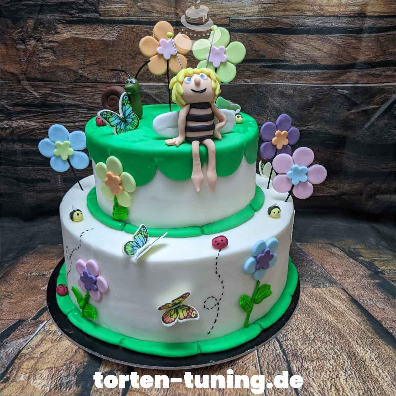 Biene Maja Dripcake Obsttorte Geburtstagstorte Motivtorte Torte Tortendekoration Torte online bestellen Suhl Thüringen Torten Tuning Sahnetorte Tortenfiguren Cake Topper