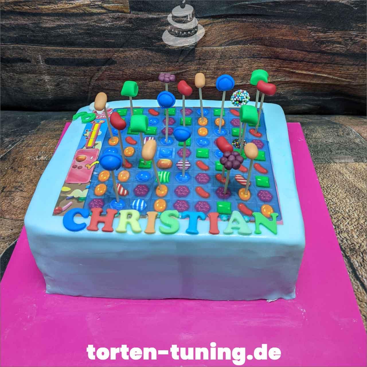 Candy Crush Dripcake Obsttorte Geburtstagstorte Motivtorte Torte Tortendekoration Torte online bestellen Suhl Thüringen Torten Tuning Sahnetorte Tortenfiguren Cake Topper