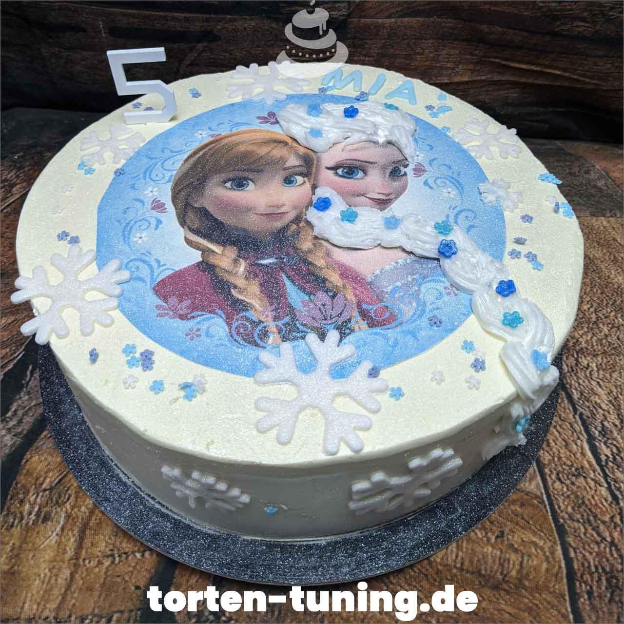 Elsa Obsttorte Geburtstagstorte Motivtorte Torte Tortendekoration Torte online bestellen Suhl Thüringen Torten Tuning Sahnetorte Tortenfiguren Cake Topper