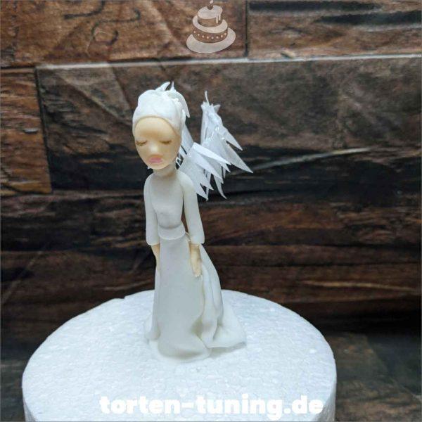 Engel Tortendekoration online bestellen Fondantfiguren modellierte essbare Figuren aus Fondant Backzubehör Tortenfiguren Tortenfigur individuelle Tortendeko