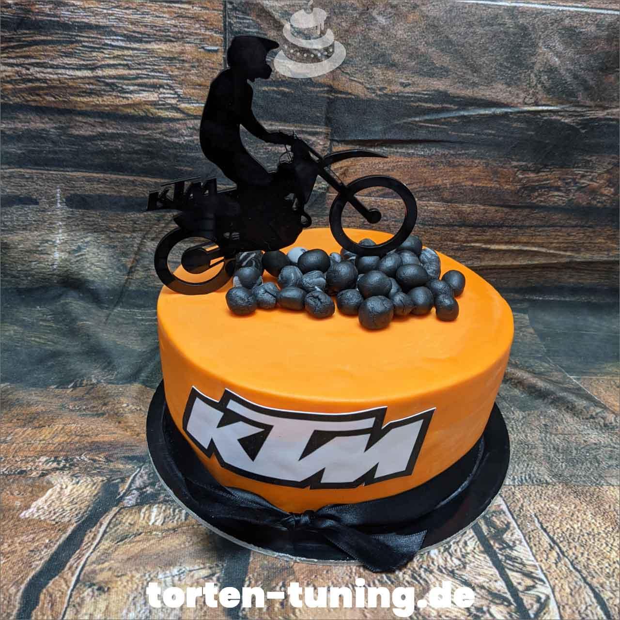 KTM Dripcake Obsttorte Geburtstagstorte Motivtorte Torte Tortendekoration Torte online bestellen Suhl Thüringen Torten Tuning Sahnetorte Tortenfiguren Cake Topper