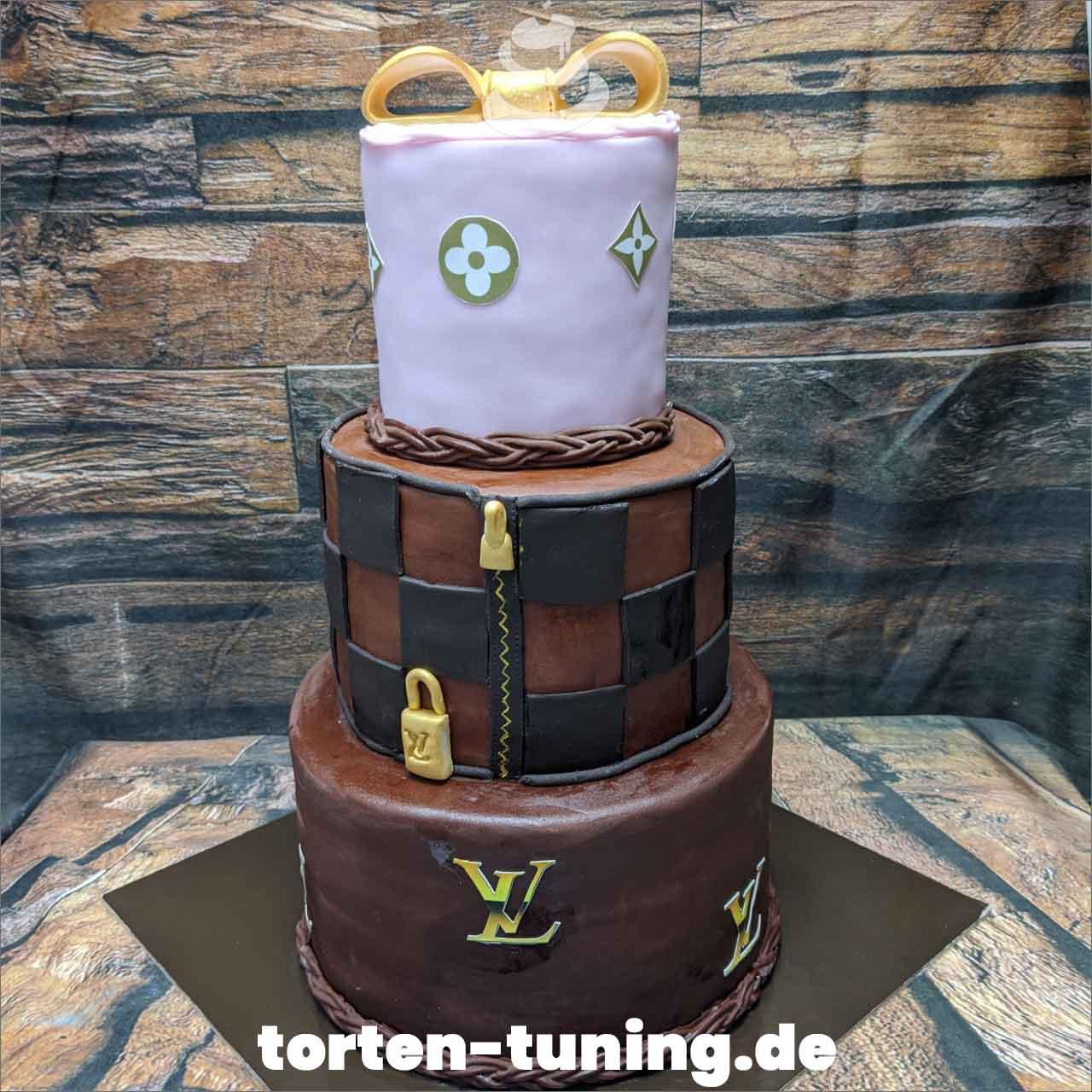 Luis Vuitton Dripcake Obsttorte Geburtstagstorte Motivtorte Torte Tortendekoration Torte online bestellen Suhl Thüringen Torten Tuning Sahnetorte Tortenfiguren Cake Topper