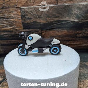 Tortendekoration Motorrad BMW