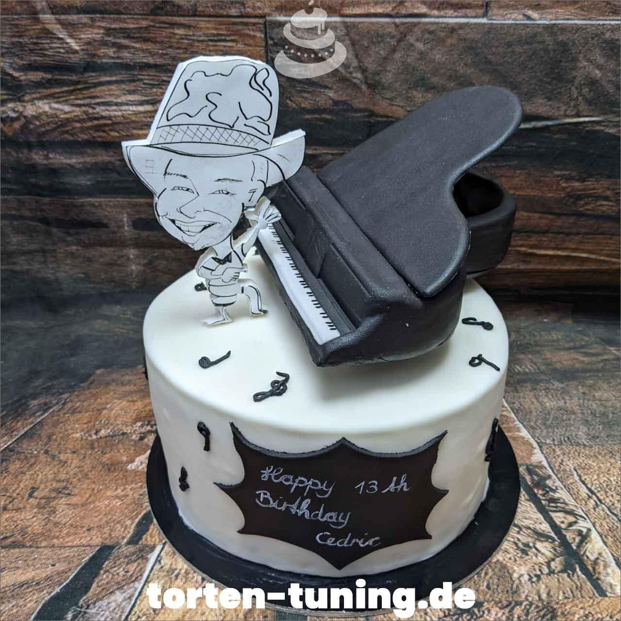 Musik Flügel Klavier Dripcake Obsttorte Geburtstagstorte Motivtorte Torte Tortendekoration Torte online bestellen Suhl Thüringen Torten Tuning Sahnetorte Tortenfiguren Cake Topper (2)
