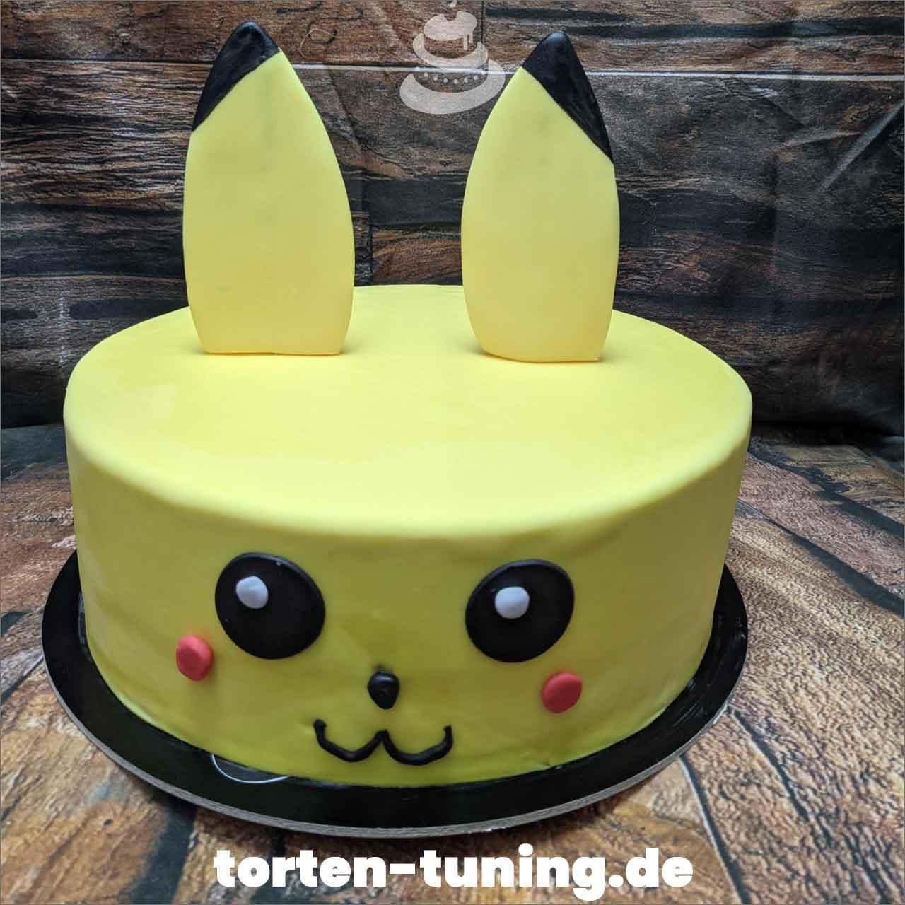 Pikachu Pokemon Dripcake Obsttorte Geburtstagstorte Motivtorte Torte Tortendekoration Torte online bestellen Suhl Thüringen Torten Tuning Sahnetorte Tortenfiguren Cake Topper