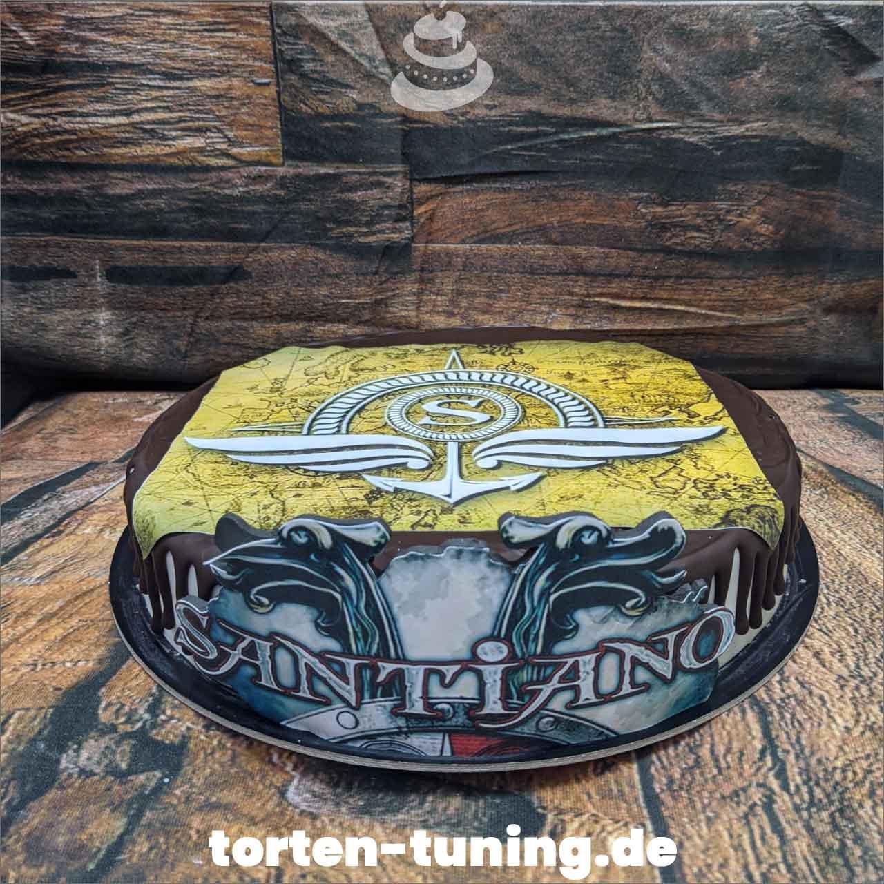 Santiano Fototorte Obsttorte Geburtstagstorte Motivtorte Torte Tortendekoration Torte online bestellen Suhl Thüringen Torten Tuning Sahnetorte Tortenfiguren Cake Topper