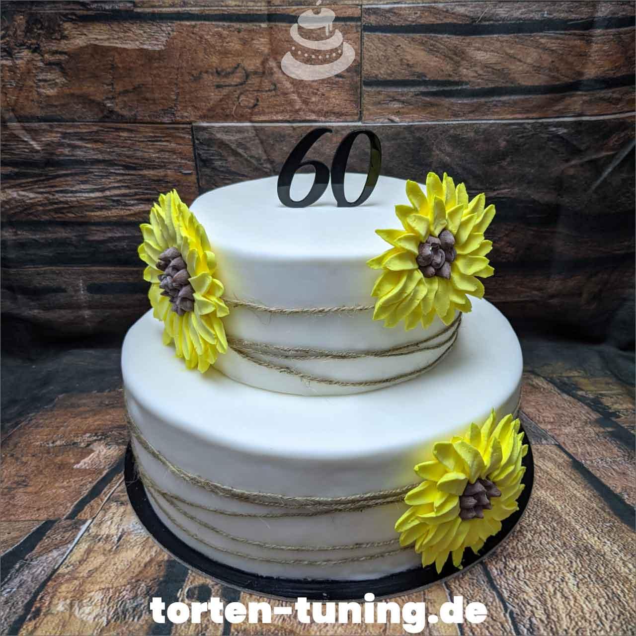 Sonnenblumen Dripcake Obsttorte Geburtstagstorte Motivtorte Torte Tortendekoration Torte online bestellen Suhl Thüringen Torten Tuning Sahnetorte Tortenfiguren Cake Topper
