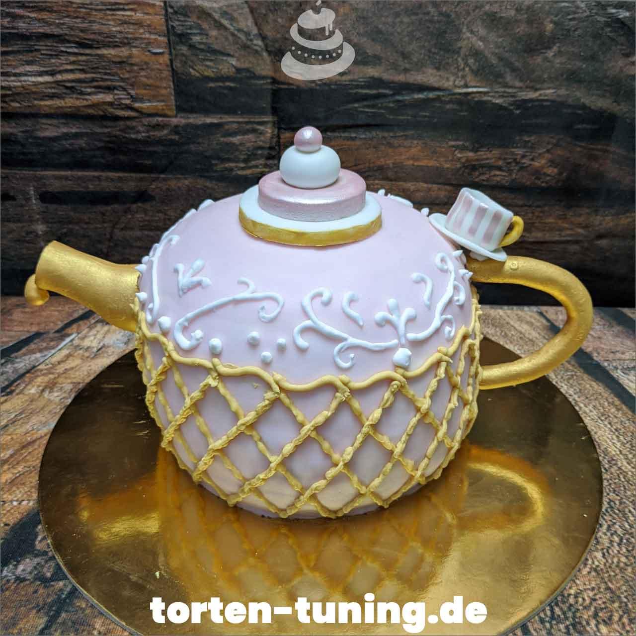 Teekanne Obsttorte Geburtstagstorte Motivtorte Torte Tortendekoration Torte online bestellen Suhl Thüringen Torten Tuning Sahnetorte Tortenfiguren Cake Topper