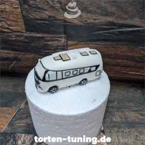 Tortendekoration Wohnwagen