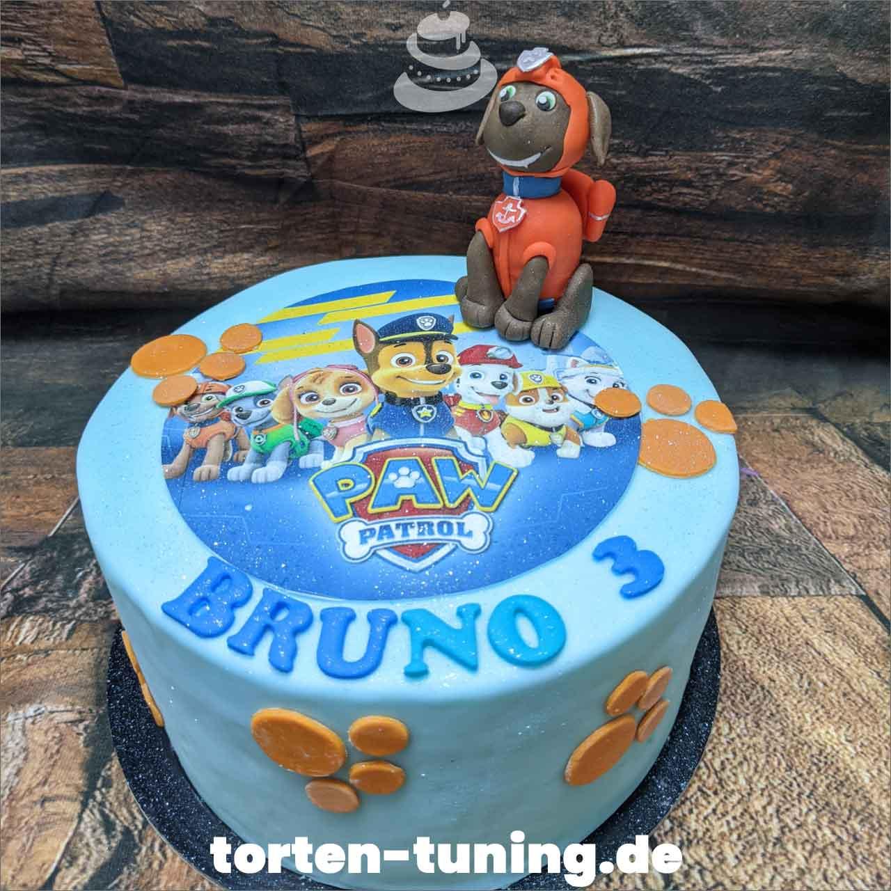 Zuma Paw Patrol Dripcake Obsttorte Geburtstagstorte Motivtorte Torte Tortendekoration Torte online bestellen Suhl Thüringen Torten Tuning Sahnetorte Tortenfiguren Cake Topper