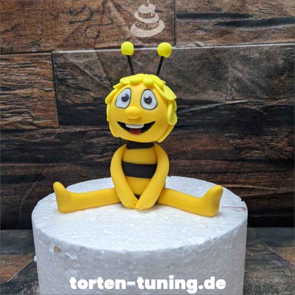 Tortendekoration Biene Maja Cake topper modellierte Figur Fondantfigur Tortenfigur Torte Torten Tuning Geburtstagstorte Suhl Hochzeitstorte Kindertorten Babytorten Fondant online