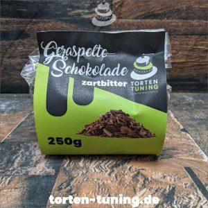 Geraspelte Schokolade dunkel