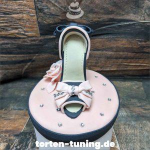 Tortendekoration High Heel pink
