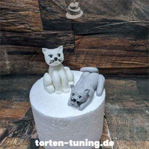 Tortendekoration Katzen