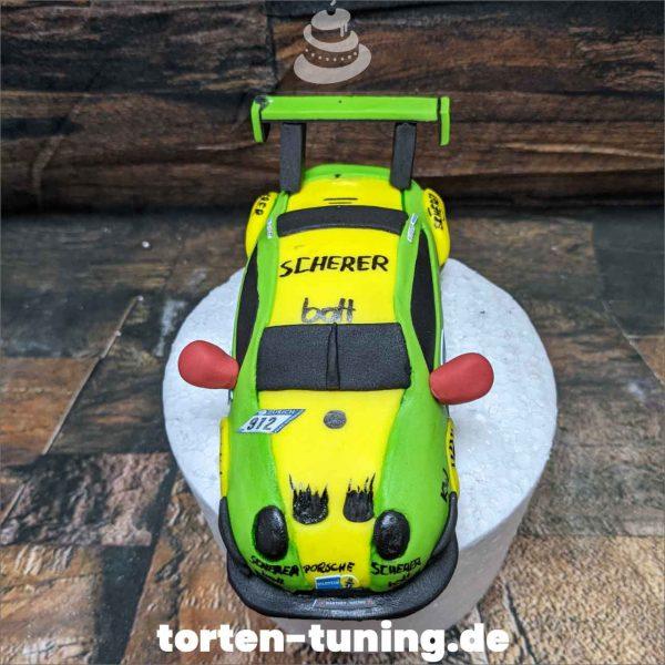 Tortendekoration Manthey Porsche 912 Cake topper modellierte Figur Fondantfigur Tortenfigur Torte Torten Tuning Geburtstagstorte Suhl Hochzeitstorte Kindertorten Babytorten Fondant online
