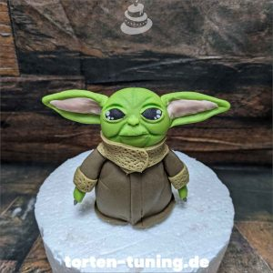 Tortendekoration Meister Yoda