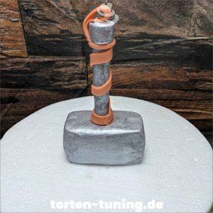 Tortendekoration Thors Hammer
