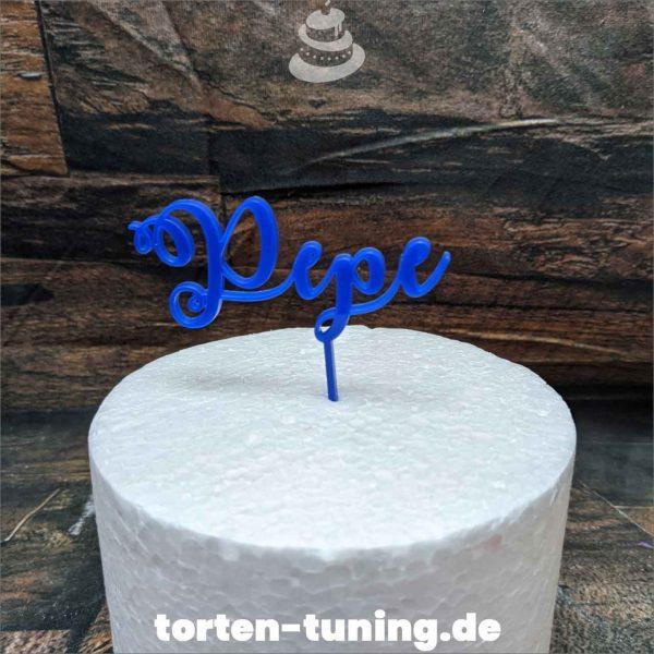 blau Name Cake topper modellierte Figur Fondantfigur Tortenfigur Torte Torten Tuning Geburtstagstorte Suhl Hochzeitstorte Kindertorten Babytorten Fondant online