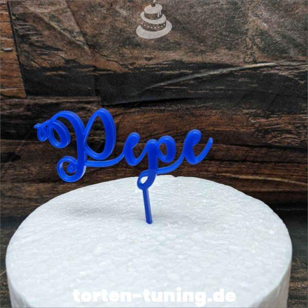 blauer Cake topper modellierte Figur Fondantfigur Tortenfigur Torte Torten Tuning Geburtstagstorte Suhl Hochzeitstorte Kindertorten Babytorten Fondant online