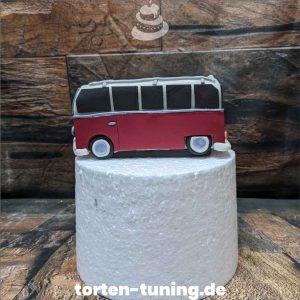 Tortendekoration VW Bus