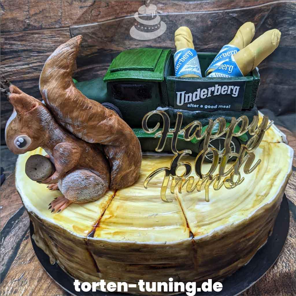 Geburtstagstorte Underberg Wald Tortendekoration modellierte Figur Fondantfigur Tortenfigur Torte Torten Tuning Geburtstagstorte Suhl Arnstadt Hochzeitstorte Kindertorten Babytorten Fon