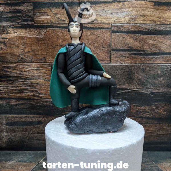 Tortendekoration Loki