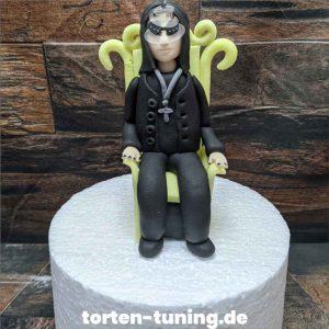 Tortendekoration Ozzy Osbourne