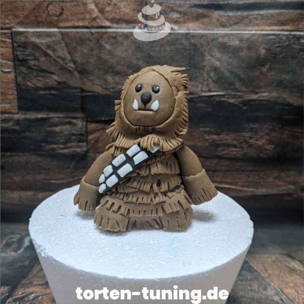 Star Wars Chewbacca Tortendekoration online bestellen Fondantfiguren modellierte essbare Figuren aus Fondant Backzubehör Tortenfiguren Tortenfigur individuelle Tortendeko.jpg.jpg.jpg