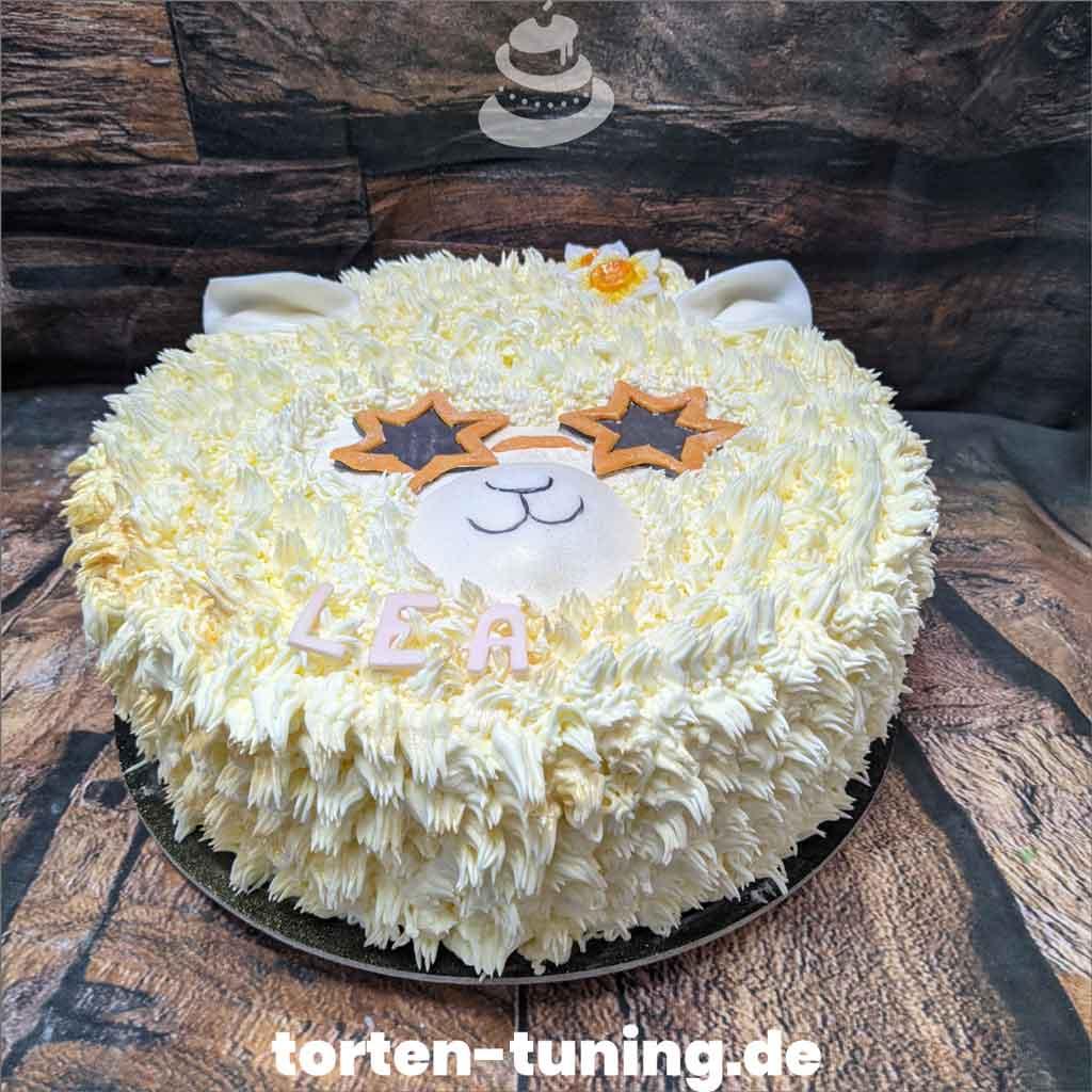 Torte Alpaka Tortendekoration modellierte Figur Fondantfigur Tortenfigur Torte Torten Tuning Geburtstagstorte Suhl Arnstadt Hochzeitstorte Kindertorten Babytorten Fon