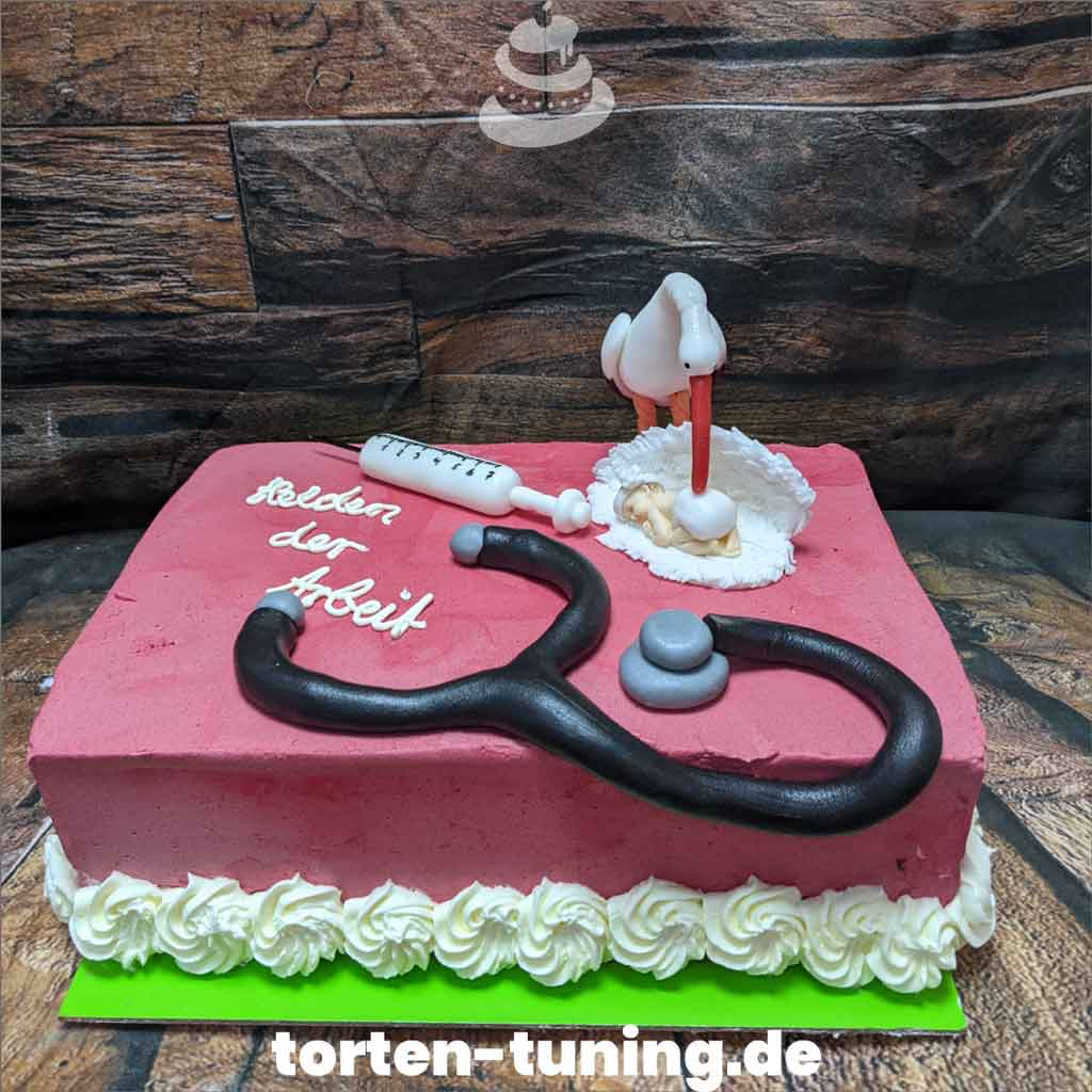 Torte Hebamme Tortendekoration modellierte Figur Fondantfigur Tortenfigur Torte Torten Tuning Geburtstagstorte Suhl Arnstadt Hochzeitstorte Kindertorten Babytorten Fon